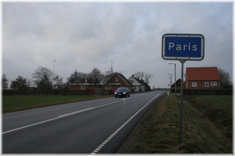 Paris - Midtjylland - Danmark