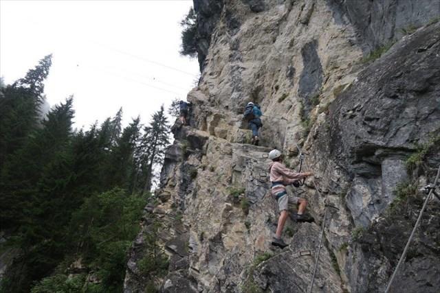 Klettersteig Nrw : Gc kn t klettersteig riederklamm traditional cache in tirol