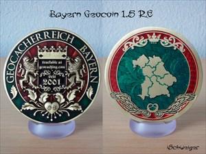 Bayern Geocoin 1.5 RE