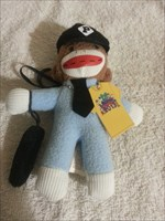 Monk the Sock Monkey