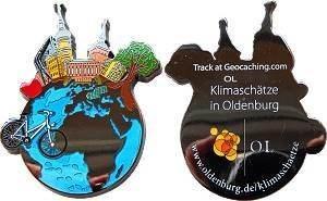 Team Compubaers Oldenburg Klimaschätze Geocoin