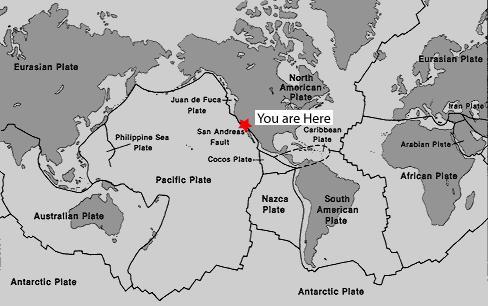 GCQCT7 Elizabeth Lake - San Andreas Fault (Earthcache) in ... on hawaiian islands map usa, tectonic plates map usa, santa monica map usa, earthquakes map usa, river map usa, sierra nevada map usa, map of texas usa, continental divide map usa, climate map usa, grand canyon map usa, oregon map usa, ocean map usa, golden gate bridge map usa,