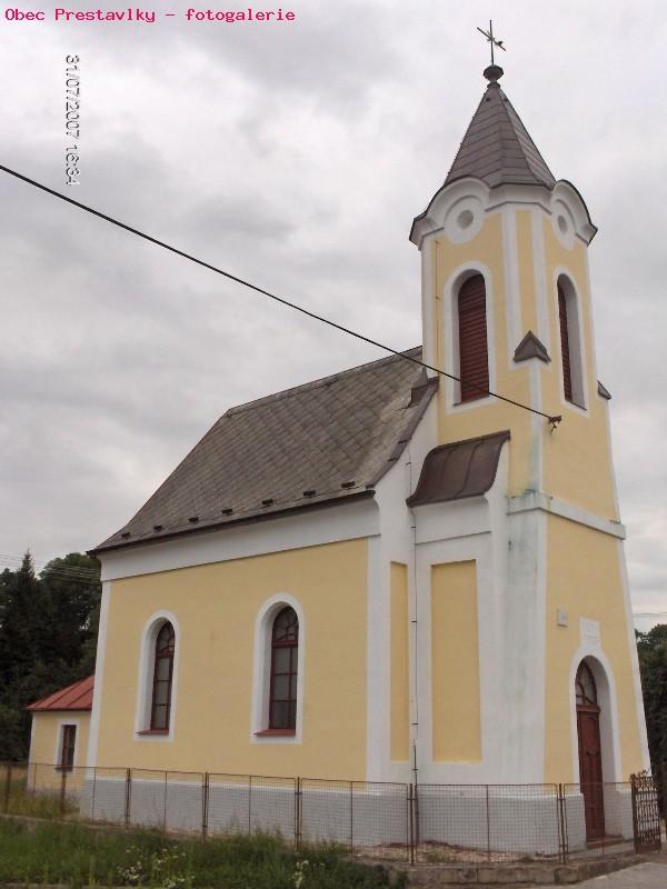 Opravený kostelík