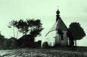 Kostel sv. Linharta před požárem