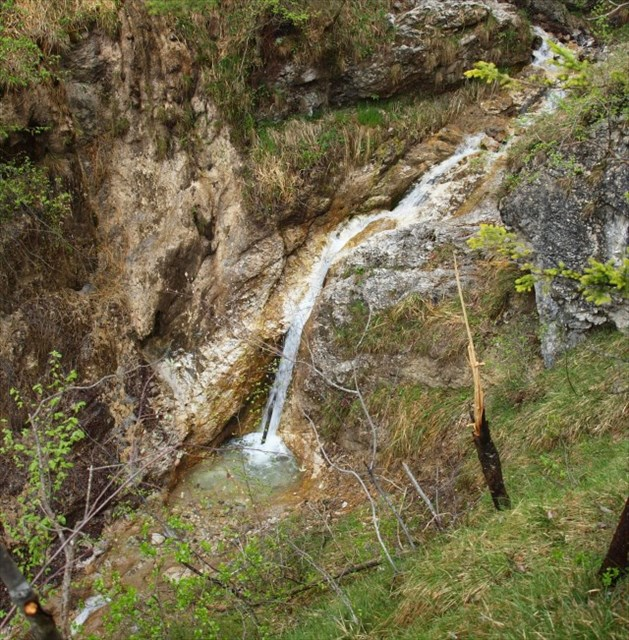 Spodnji slapovi / Lower waterfalls