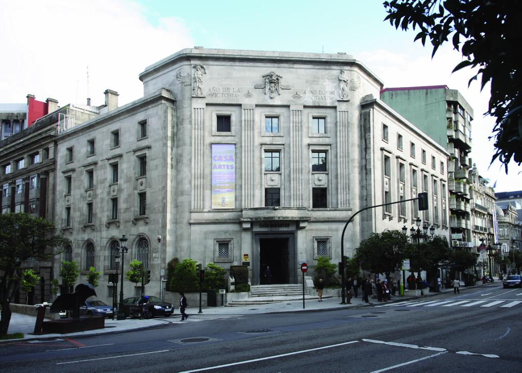 Gc4name vigo casa das artes teatro garc a barb n for Sucursales de galicia
