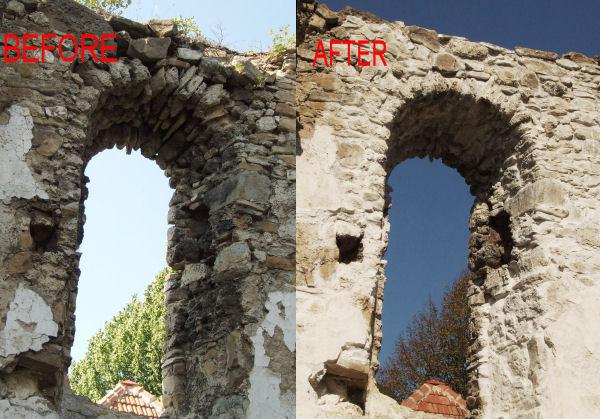 Konzervovanie murov