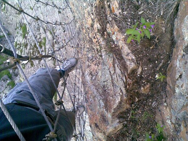 Klettersteig La Resgia : Gc1t2ry la resgia traditional cache in graubünden switzerland