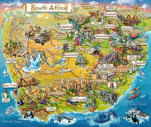 MEGA South Africa - Map