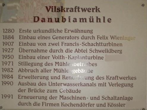 Chronik der Mühle