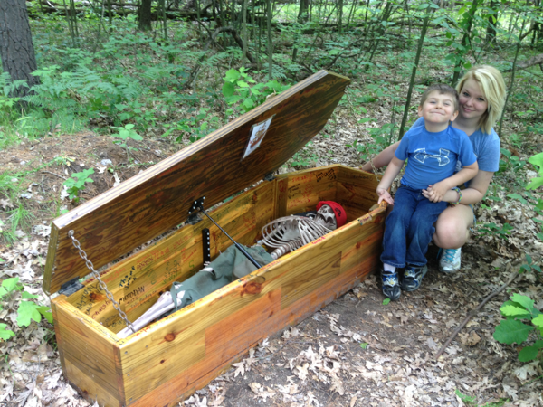 Celebrate International Talk Like a Pirate Day — Pirate's Quest Stolen Treasure (GC28T4Y) — Geocache of the Week