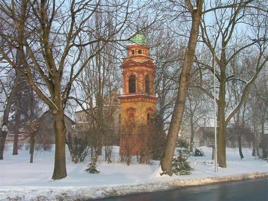 Zvonicka v zime
