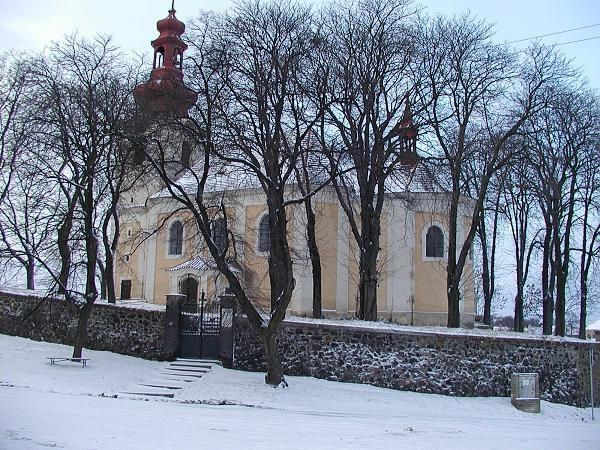 Hostounsky kostelik