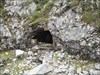 Der Eingang zum alten Bergwerksstollen