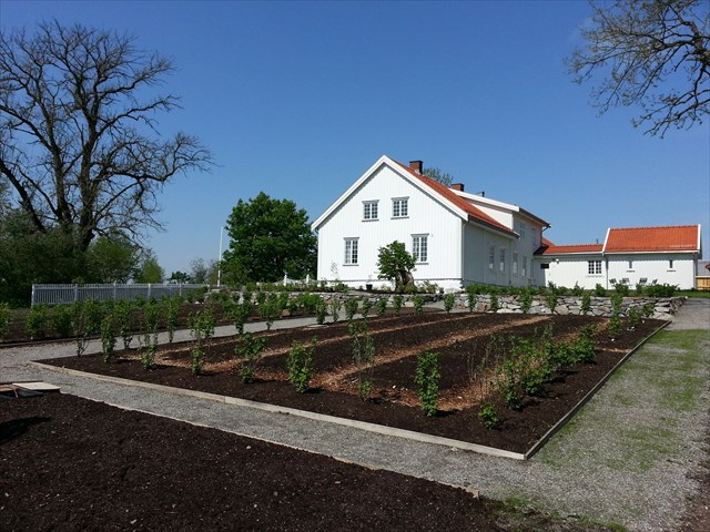 Spydeberg prestegård hage