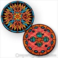 Compass Rose Geocoin 2011 - Daybreak