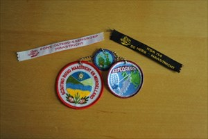 100 Year Scouting & 10 Year geocaching Coin BB