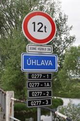 Oltář dopravního značení