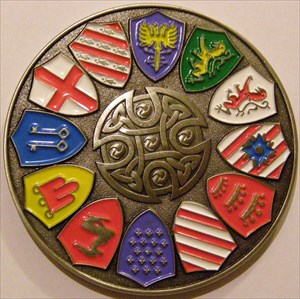 Tb4nymg knights of the round table geocoin dvan ct erbu for 12 knight of the round table