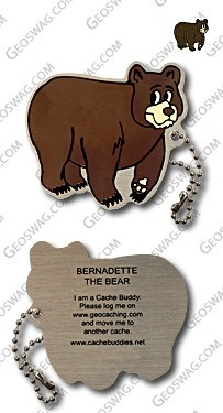 Bernadette the black bear