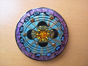 Compass Rose Geocoin 2011 - Eclipse