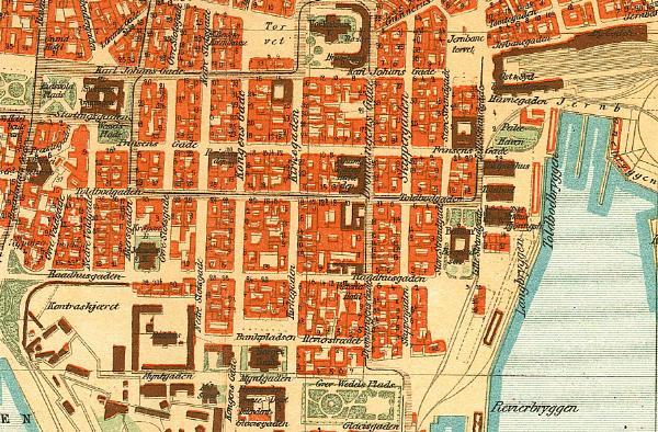 kart kvadraturen GC1X5W4 Geopol #4   Prinsens gate (Traditional Cache) in Oslo  kart kvadraturen