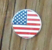 Stars & Stripes micro geocoin