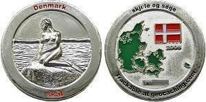 Denmark Geocoin