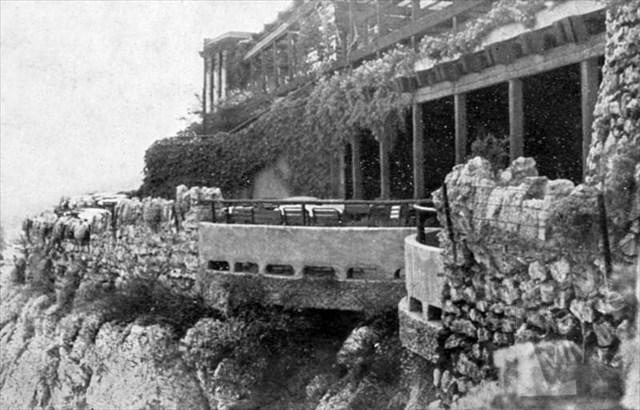 Pohled na kaskády 1930