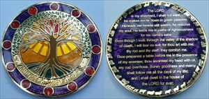 23rd Psalm Geocoin Overflowing Grace English Ed