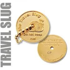 Travel Slug Geocoin