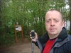 Self-portrait with GPS at GZ
