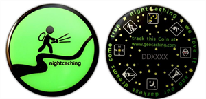 Night Caching Coin