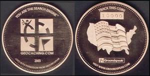 USA Geocoin
