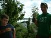 Jr & Tim at the Green Cascade