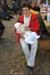 die Jubilarin mit Enkel