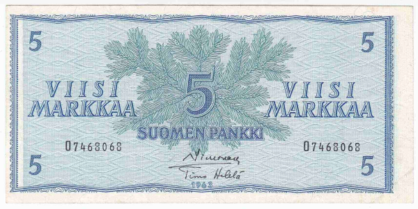 Suomen Markan Setelit