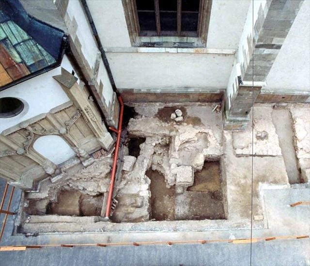 Archeologický pruzkum hrbitova