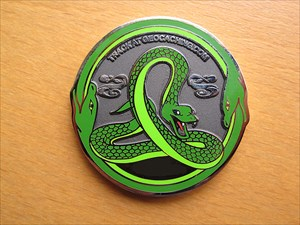 Green Mamba Geocoin