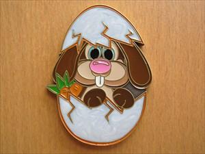 Rabbit in Egg Geocoin - Vorderseite