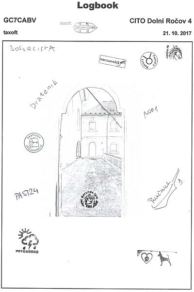 GC7CABV - CITO Dolní Ročov IV - logbook