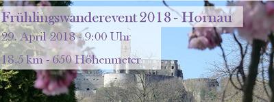 Frühlingswanderung 2018 - Hornau