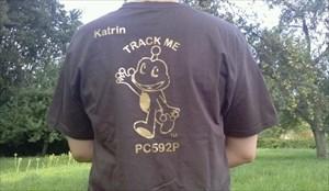 Track my T-Shirt
