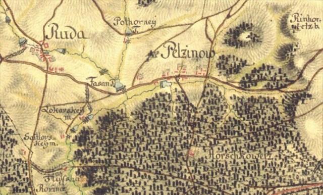 První vojenské mapování, 1764