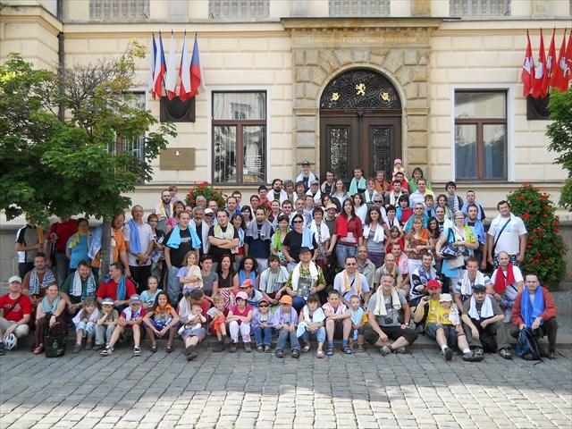 Ručníkový den Pardubice 2012