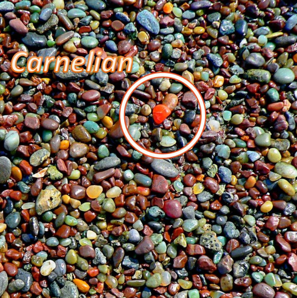 GC2H5H8 The Rainbow Sands of Rodeo Beach (Earthcache) in California