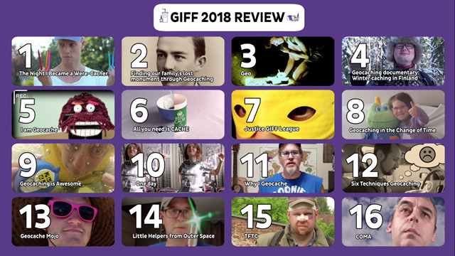 Los cortos GIFF 2018 en una imagen