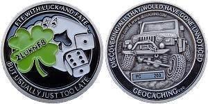 2LuknF8 Geocoin