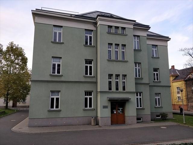 Budova ředitelství Městské nemocnice Ostrava