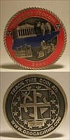Tennessee Geocoin